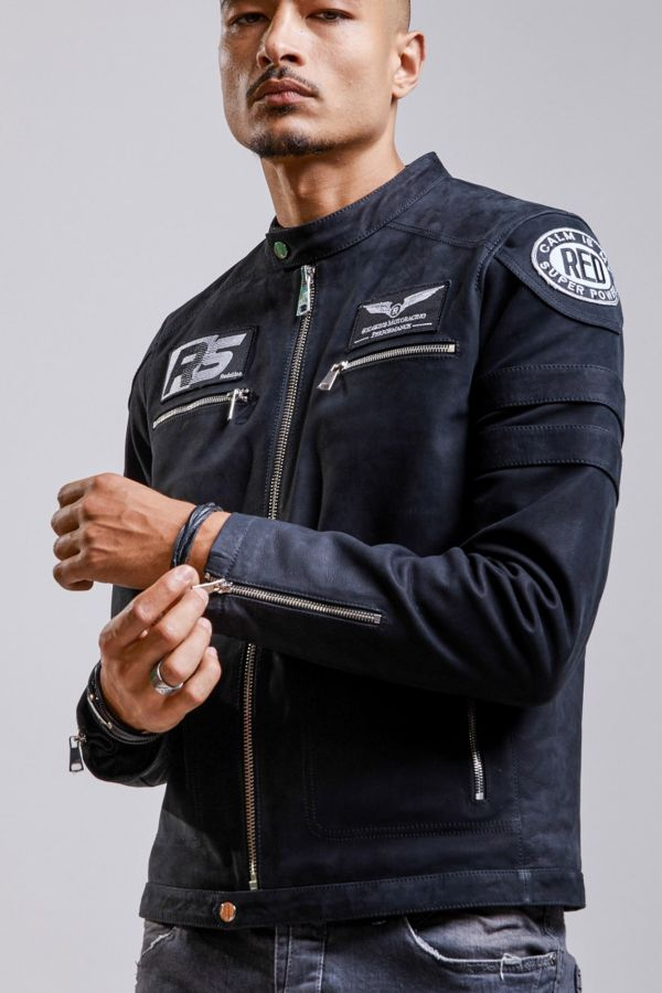 Blouson Homme Redskins LUTHER FOSCO BLACK