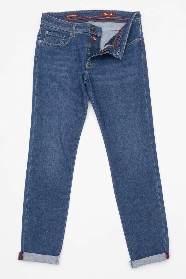 Pantalon Homme Mcs MFD201-D250-000 DENIM