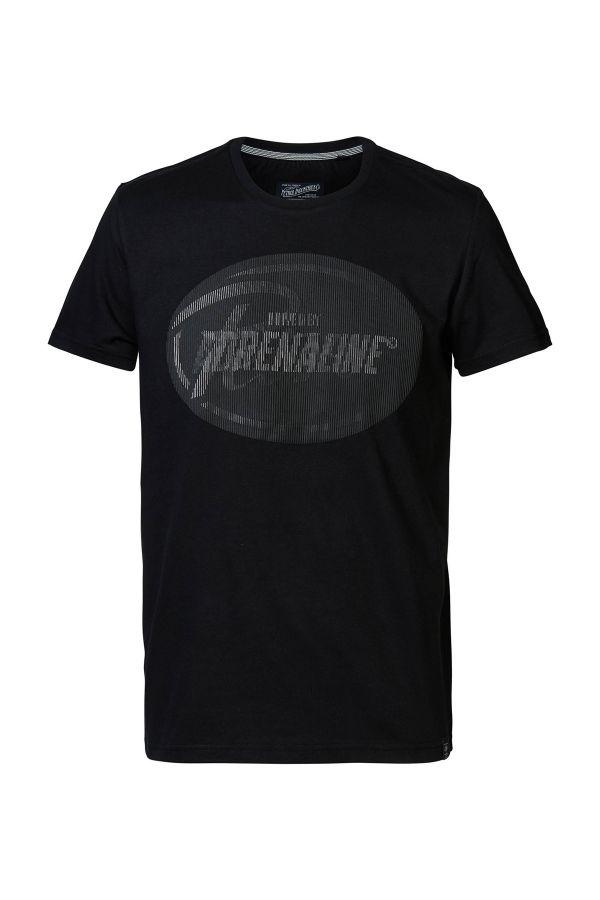 Tee Shirt Homme Petrol Industries TSR663 9999 BLACK