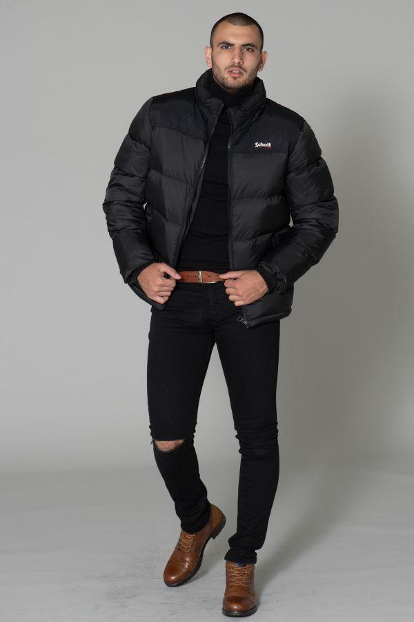 Blouson Homme Schott UTAH BLACK