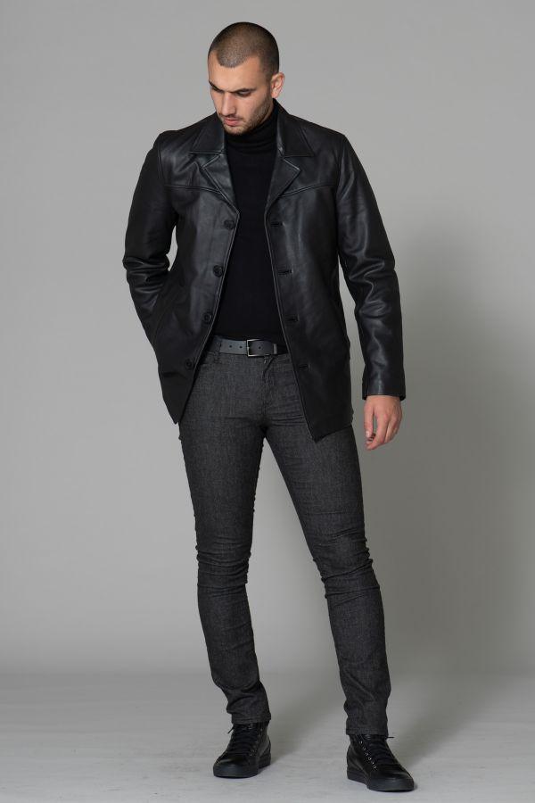 Veste Homme Schott LCMAINE2 BLACK