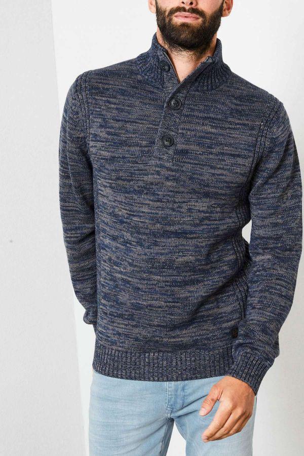 Pull/sweatshirt Homme Petrol Industries KWC206 5091 DEEP NAVY