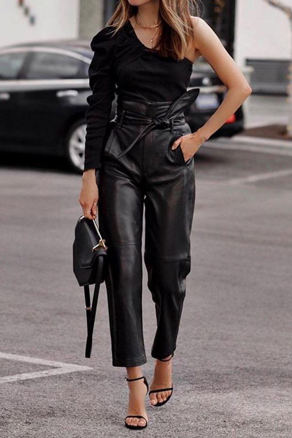 Pantalon Femme Lou Andrea PARIS NOIR
