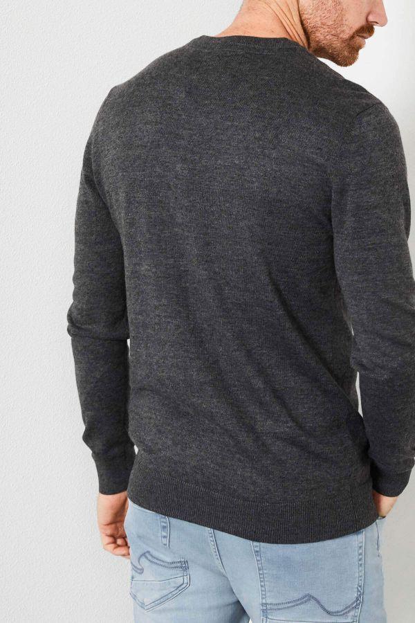 Pull/sweatshirt Homme Petrol Industries KWV200 9999 BLACK