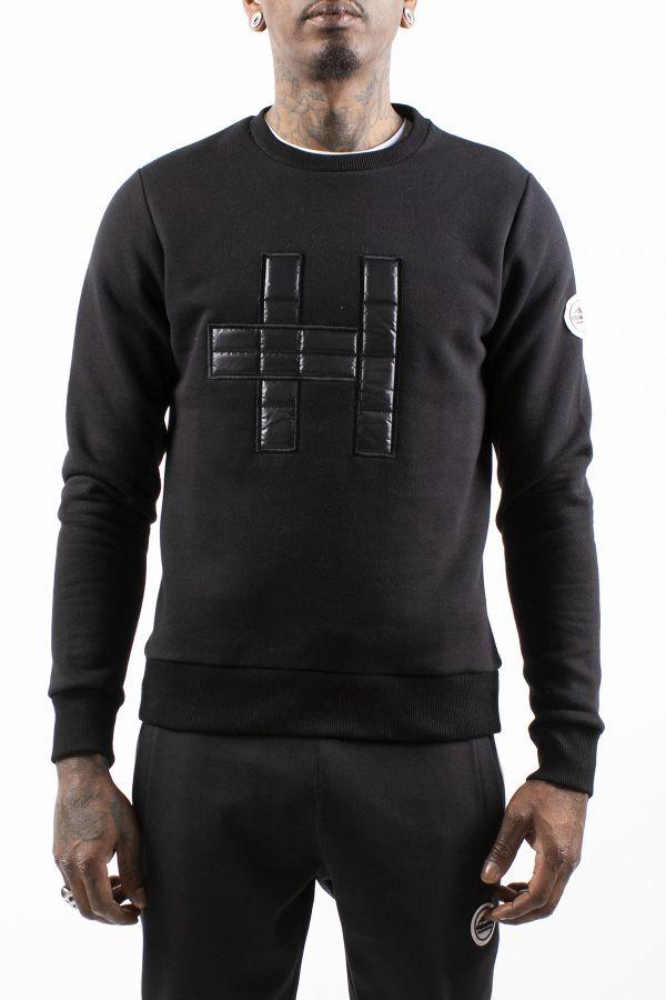 Pull/sweatshirt Homme Helvetica PANORAMA BLACK