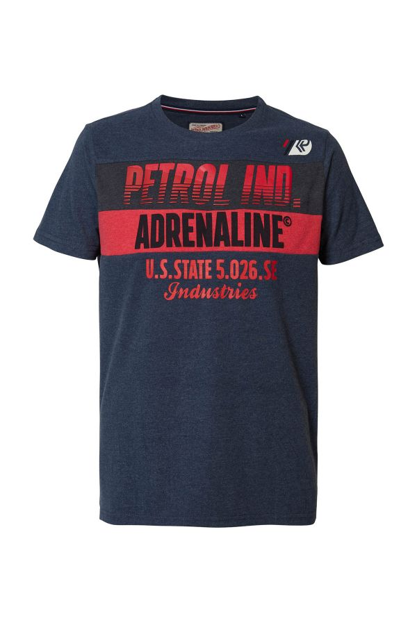 Tee Shirt Homme Petrol Industries TSR603 5091 DEEP NAVY