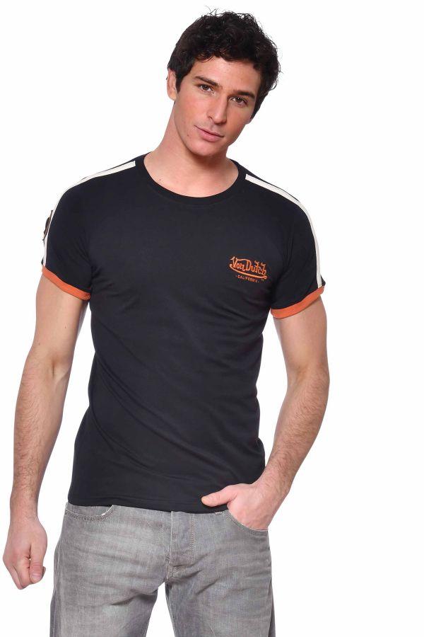Tee Shirt Homme Von Dutch TWEN NOIR