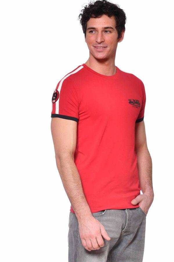 Tee Shirt Homme Von Dutch TWEN ROUGE
