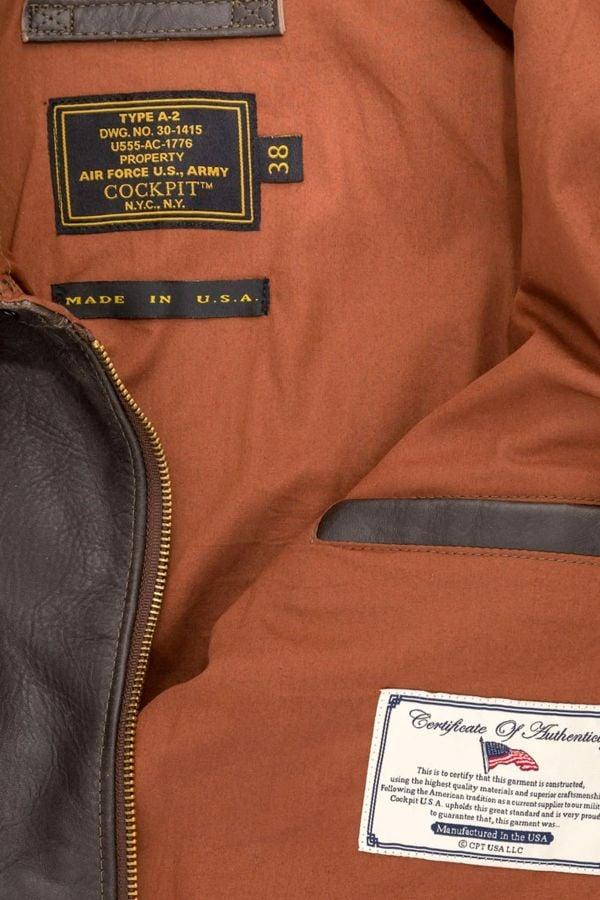 Blouson Homme Cockpit Usa Z21W009W BROWN