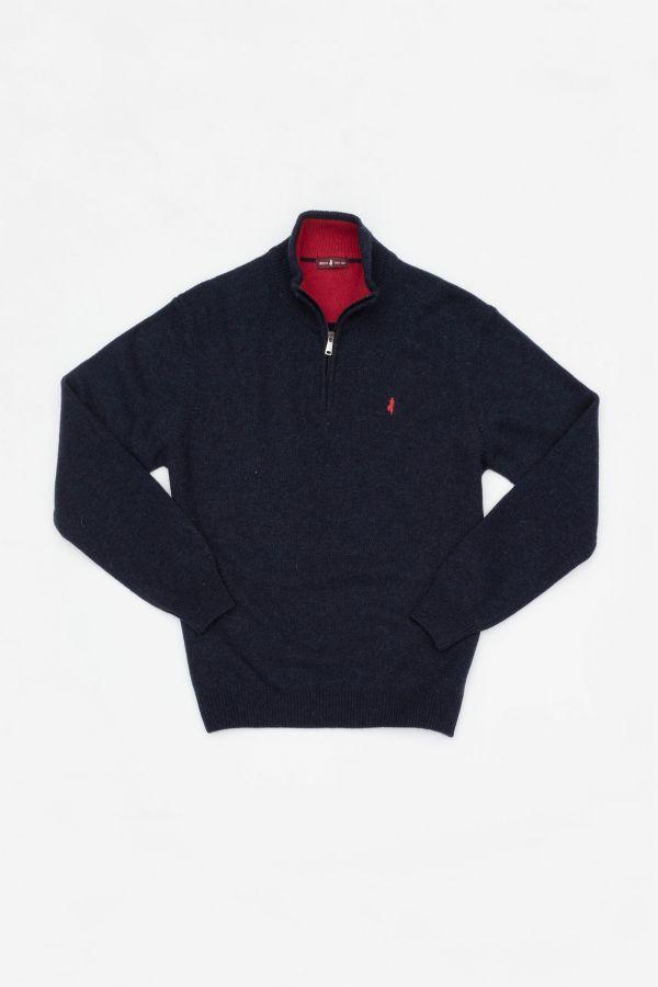 Pull/sweatshirt Homme Mcs MFPULL-W001-752 MARINE