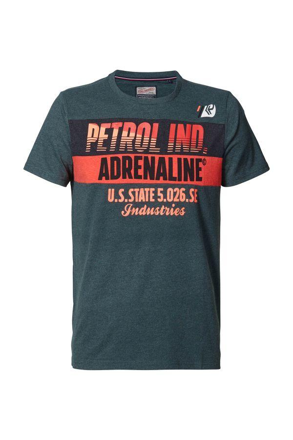 Tee Shirt Homme Petrol Industries TSR603 6089 BOTTLE
