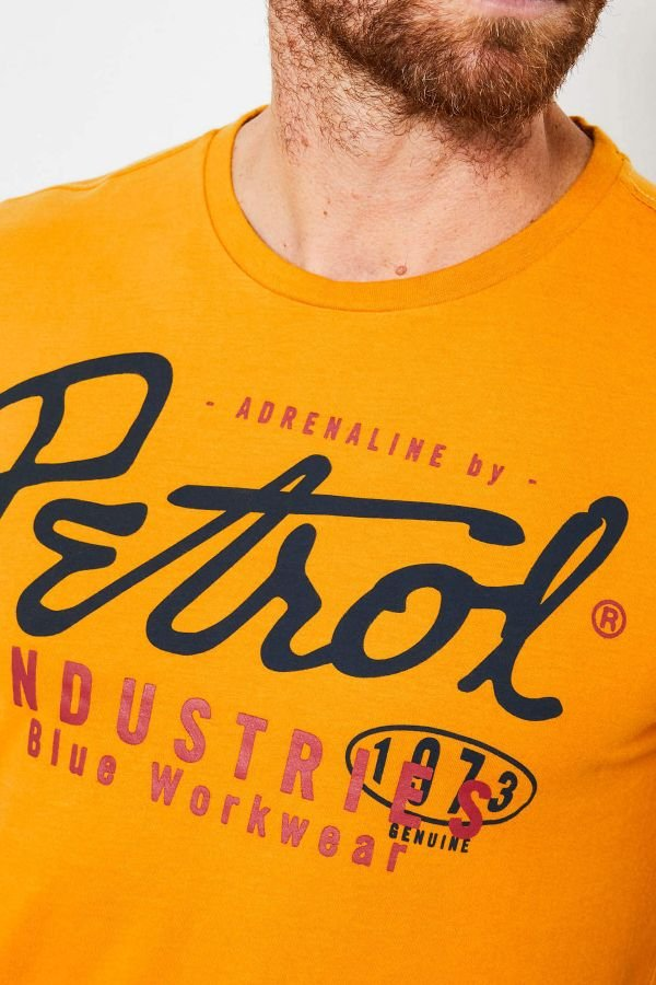 Tee Shirt Homme Petrol Industries TSR602 1024 GOLD