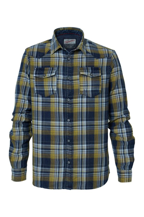 Chemise Homme Petrol Industries SIL408 1024 GOLD