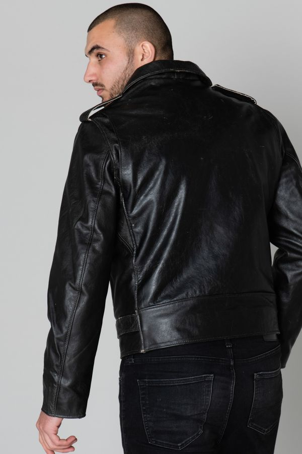 Blouson Homme Schott LCPERFVINT BLACK