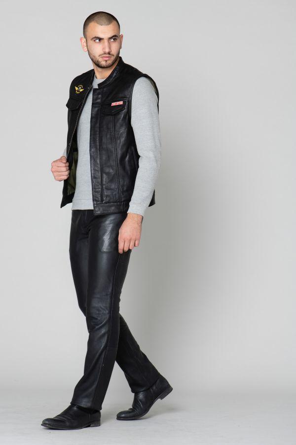 Pantalon Homme Gipsy PANT GBJEANS LNTV BLACK