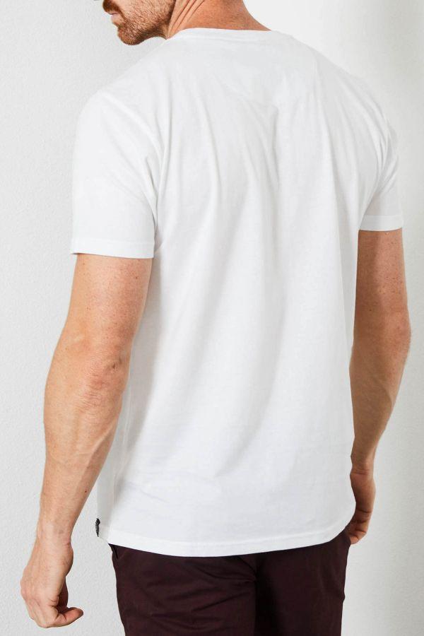 Tee Shirt Homme Petrol Industries TSR604 0000 BRIGHT WHITE