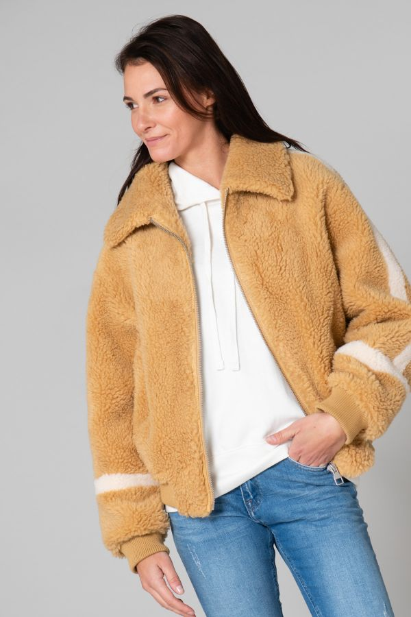 Blouson Femme Giny BETTY MOUTARDE