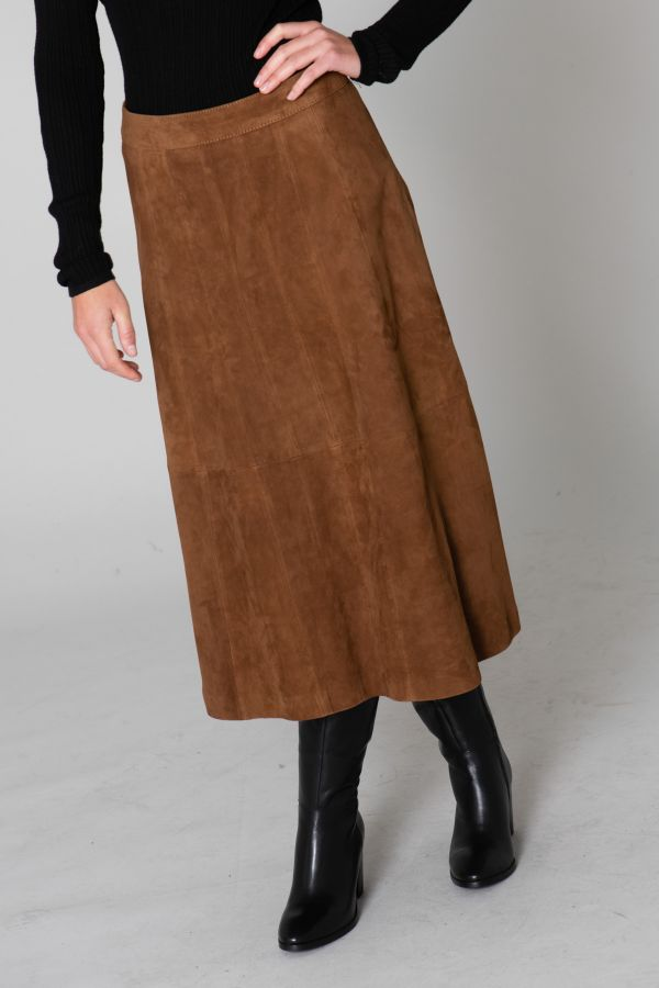 Jupe/robe Femme Oakwood LUCILLE COGNAC 507