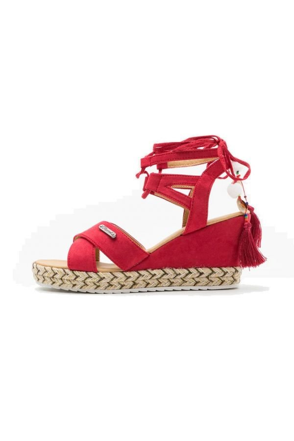 Chaussures à Lacets Femme Kaporal Shoes TANAYA ROUGE
