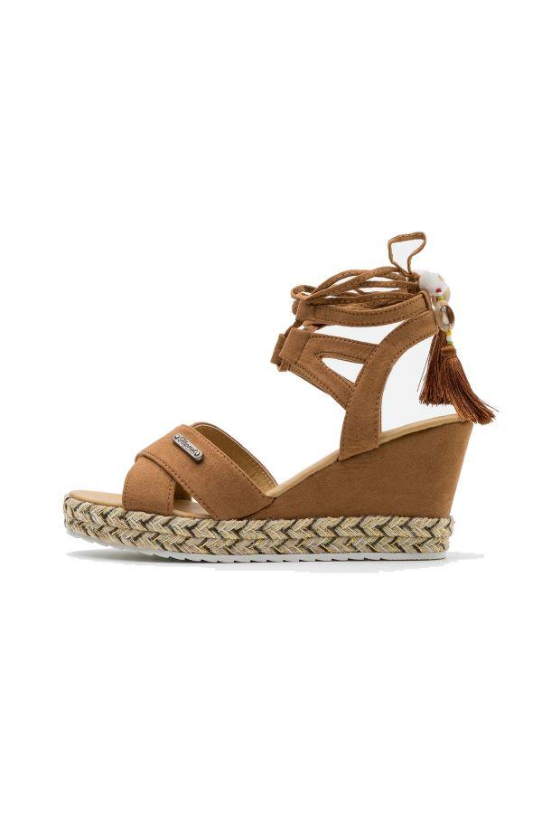 Chaussures à Lacets Femme Kaporal Shoes TANAYA COGNAC