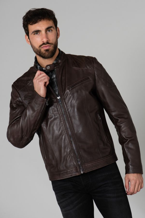 Blouson Homme Daytona CALIFORNIA SHEEP MANILA BROWN ZZ