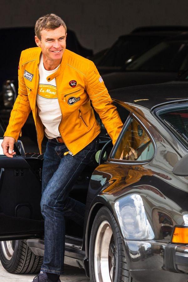Blouson Homme 24h Le Mans IRON SHEEP CROWN YELLOW