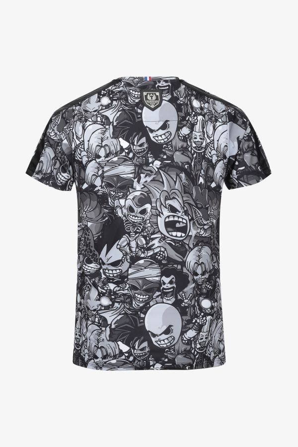 Tee Shirt Homme Horspist PALM BLACK MANGA