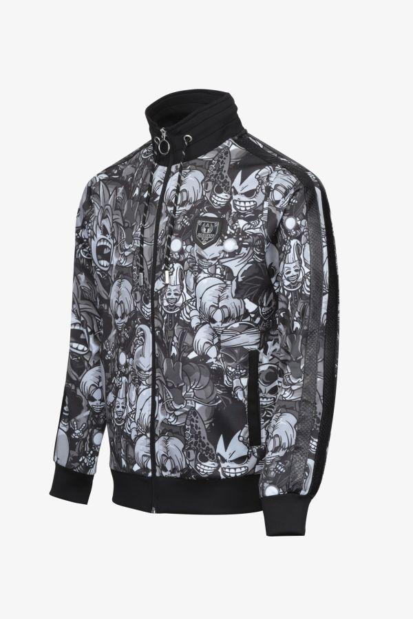 Pull/sweatshirt Homme Horspist LANCA BLACK MANGA