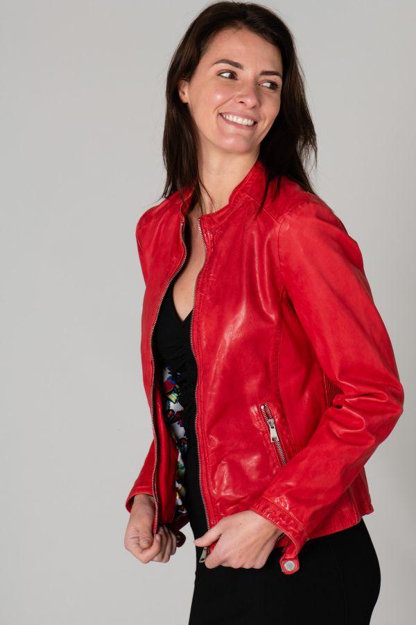 Blouson Femme Redskins GOLDIE RETRO RED