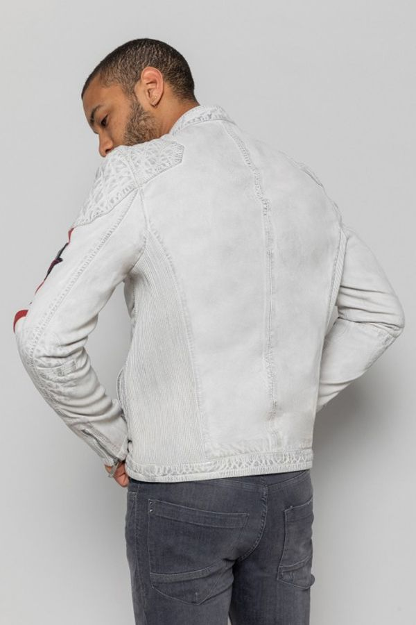 Blouson Homme Redskins RAFTER CALISTA WHITE