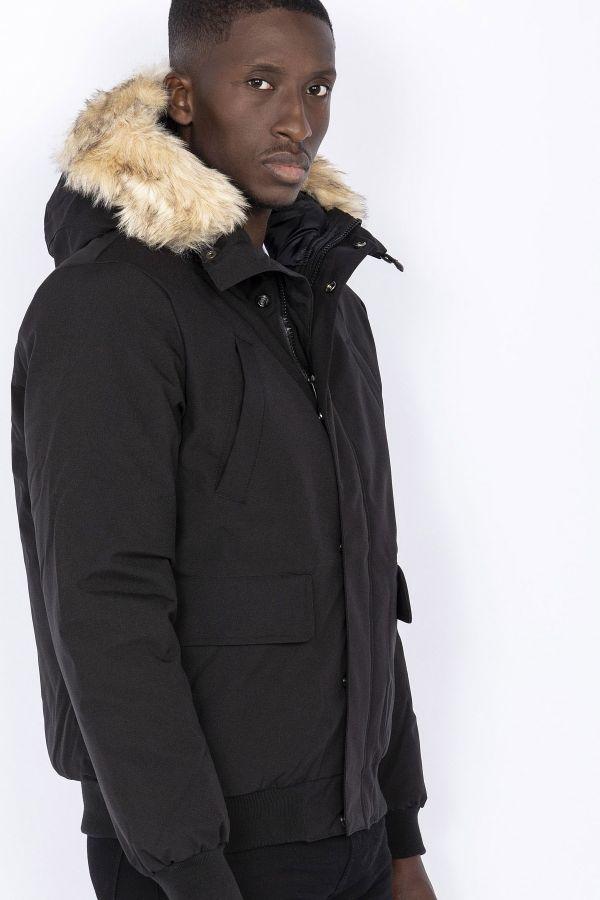 Blouson Homme Schott KEYBURN BLACK