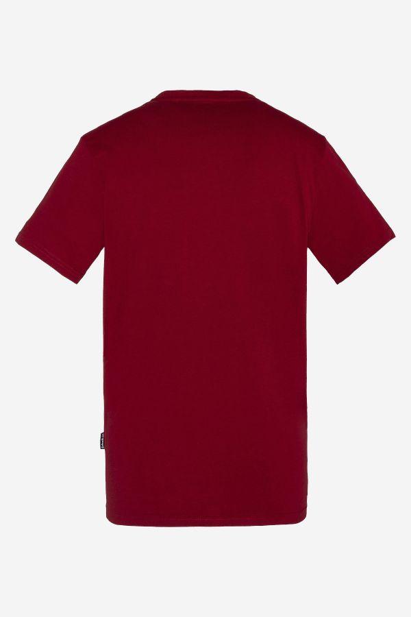 Tee Shirt Homme Schott TSLOGO DARK RED