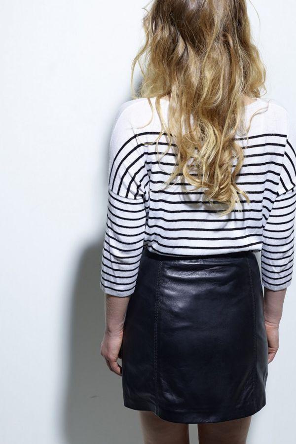 Jupe/robe Femme Daytona JUBIGAEL LAMB CASTEL BLACK