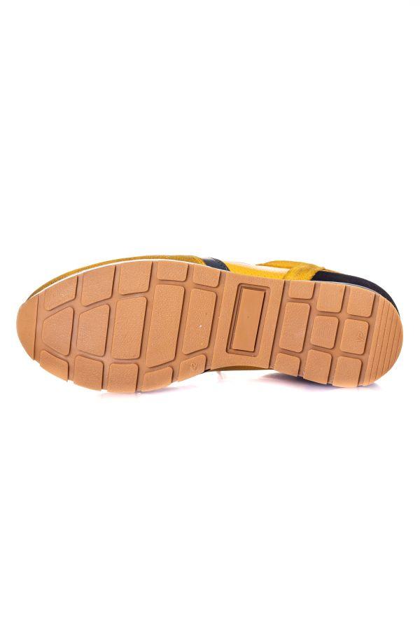 Chaussures Homme Chaussures Redskins STITCH JAUNE+MARINE