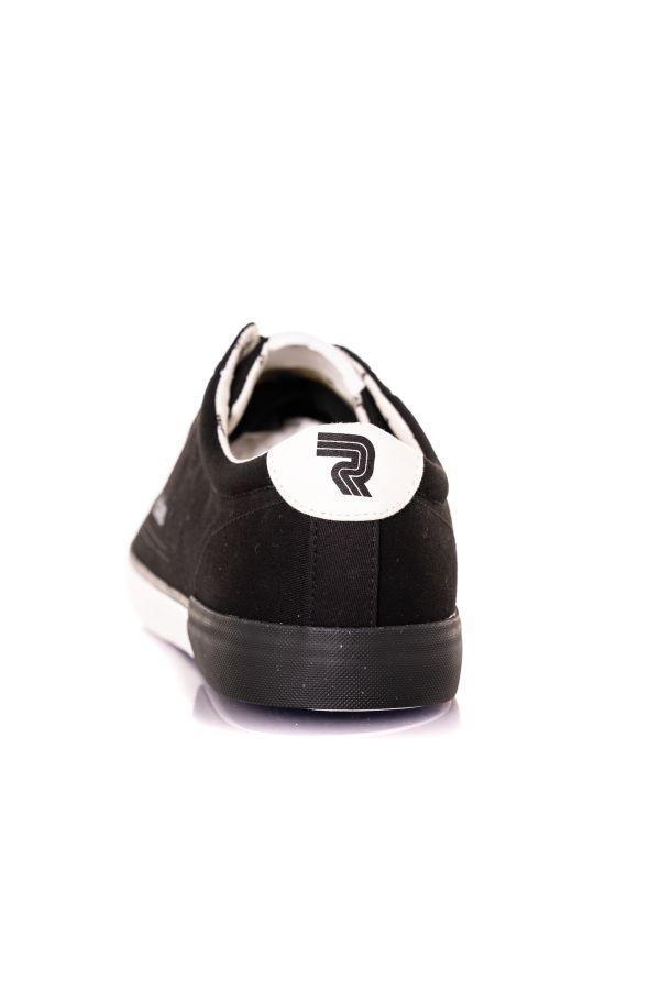 Baskets En Toile Homme Chaussures Redskins SABARI 2 NOIR BLANC