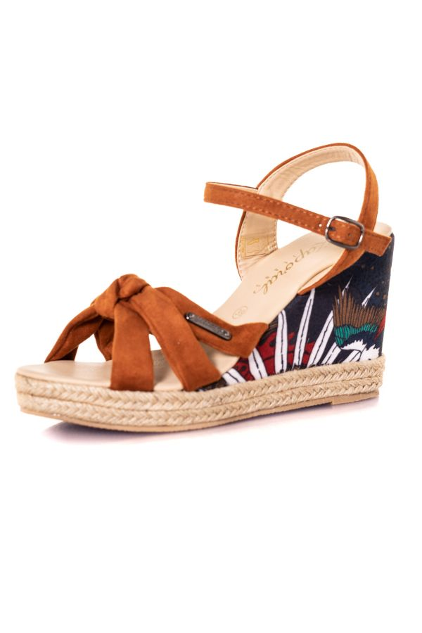 Chaussures Femme Kaporal Shoes MAKITA TAN