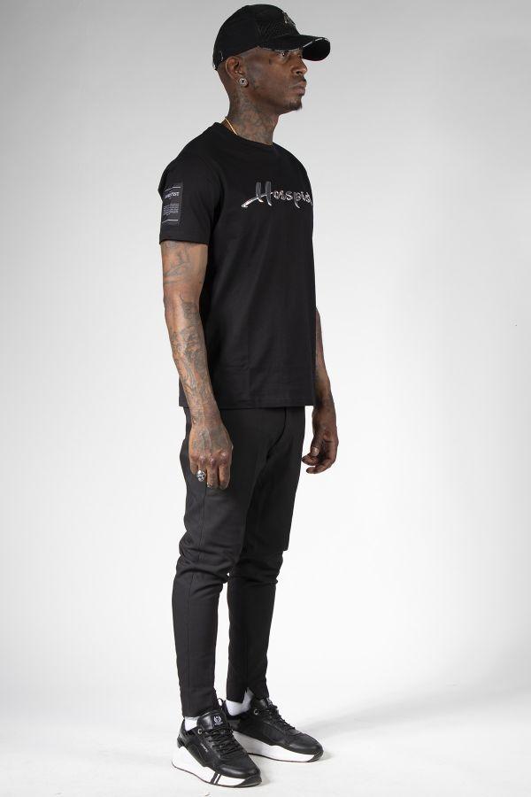 Tee Shirt Homme Horspist COGNAC BLACK