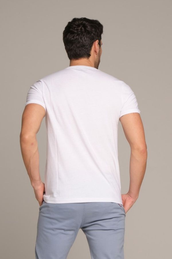 Tee Shirt Homme Redskins VENDOME NATIONAL WHITE