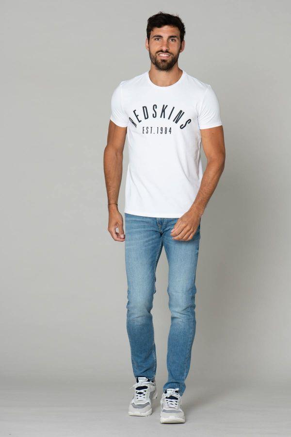 Tee Shirt Homme Redskins MALCOM CALDER WHITE P21