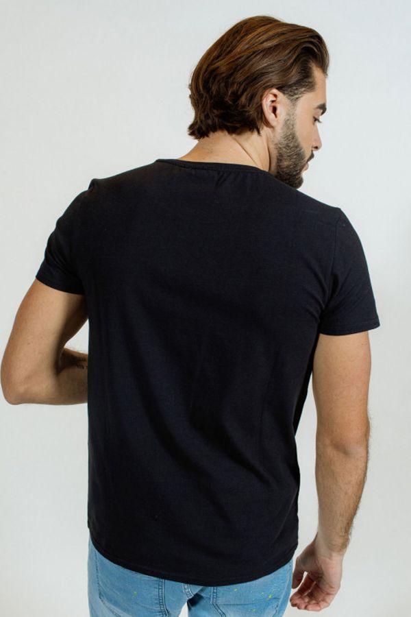 Tee Shirt Homme Redskins MALCOM CALDER BLACK P21