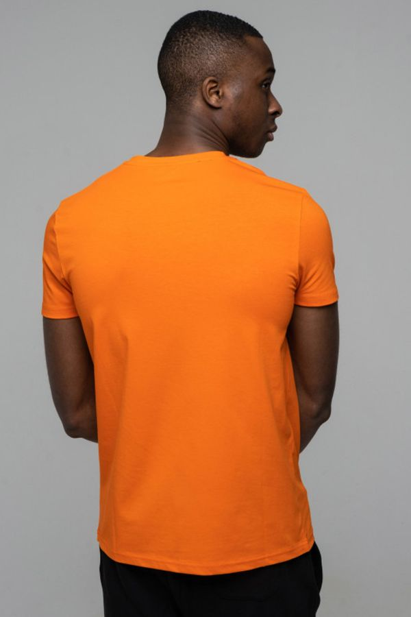 Tee Shirt Homme Redskins MALCOM CALDER ORANGE P21