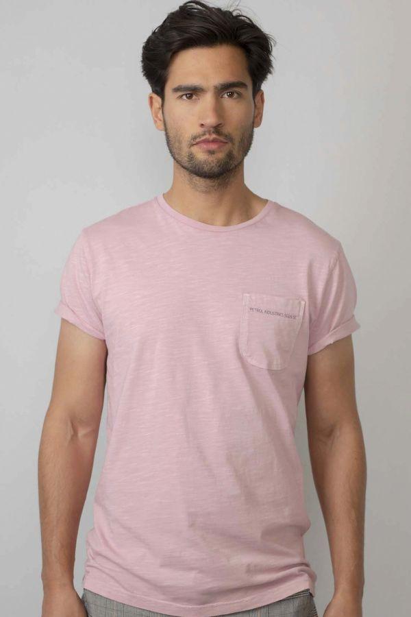 Tee Shirt Homme Petrol Industries TSR660 3009 LIGHT PINK