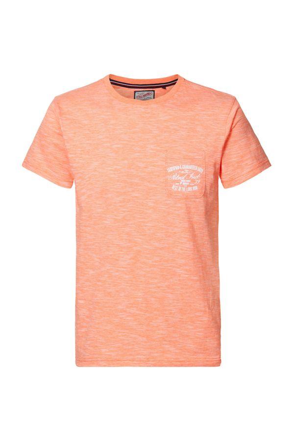 Tee Shirt Homme Petrol Industries TSR679 2000 SCHOCKING ORANGE