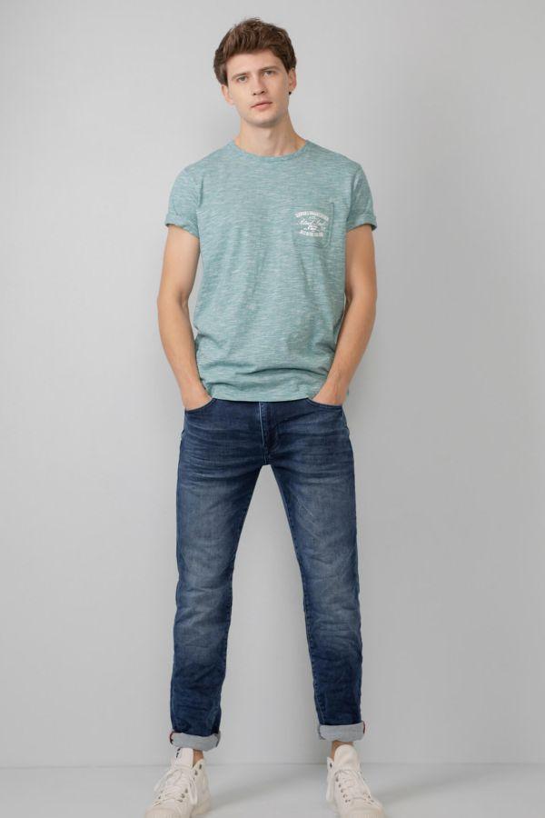 Tee Shirt Homme Petrol Industries TSR679 6135 SWAMP GREEN
