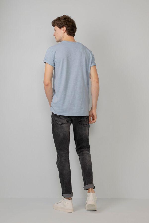 Tee Shirt Homme Petrol Industries TSR602 5145 PARROT BLUE