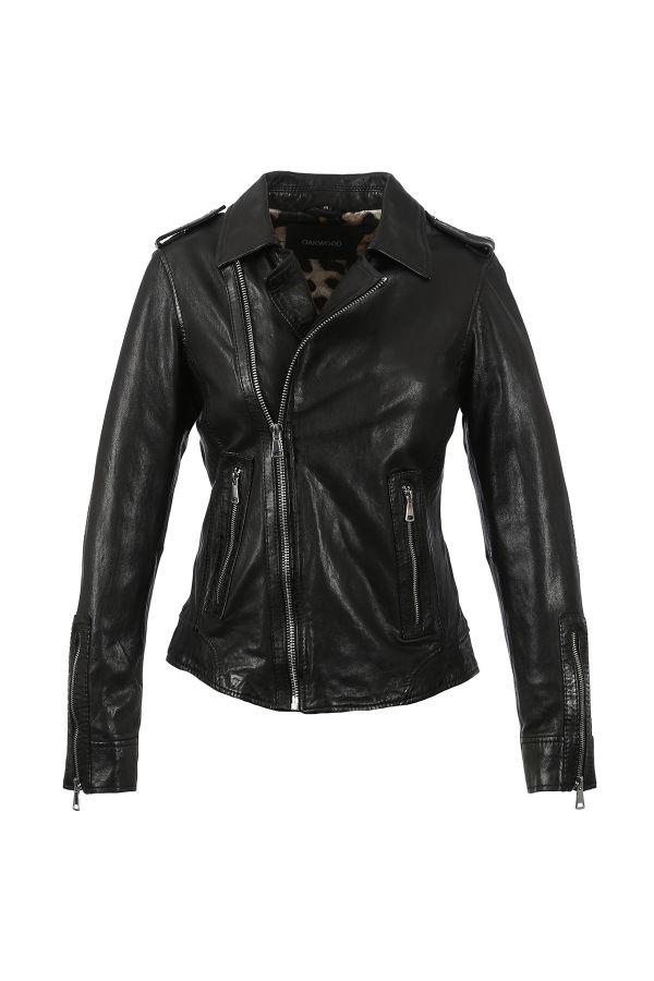 Blouson Femme Oakwood MANGA BLACK 501