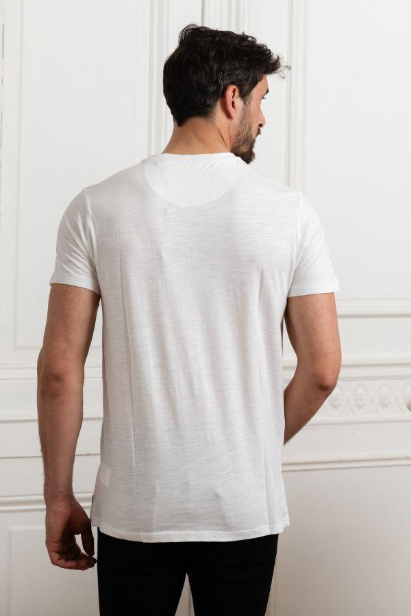 Tee Shirt Homme Petrol Industries TSR505 0000 BRIGHT WHITE