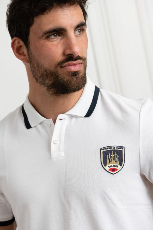 Polo Homme Redskins BANDY HIGH WHITE