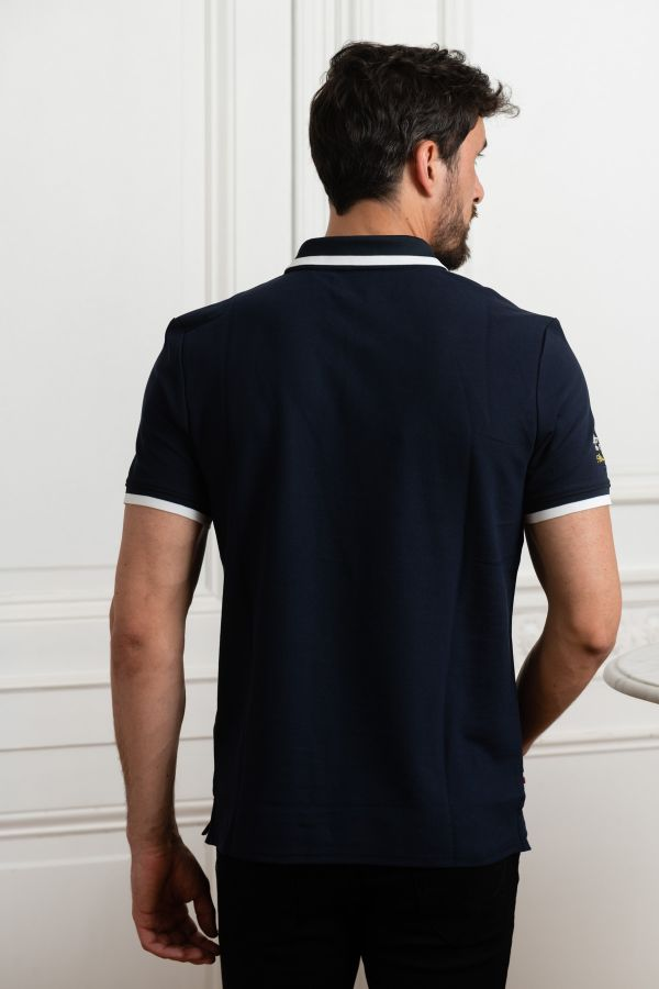 Polo Homme Redskins BANDY HIGH NAVY
