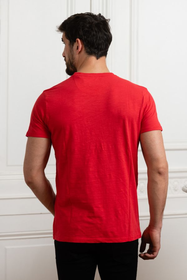 Tee Shirt Homme Petrol Industries TSR505 3142 IMPERIAL RED
